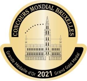 Grand Gold Medal Concours Mondial Bruxelles 2021